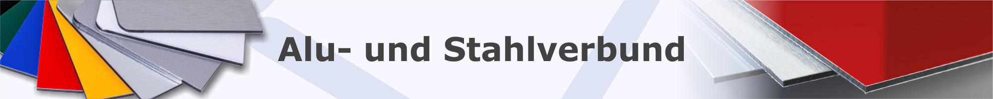 Alu Verbund und Stahl Verbund Platten Banner Kategorieseite