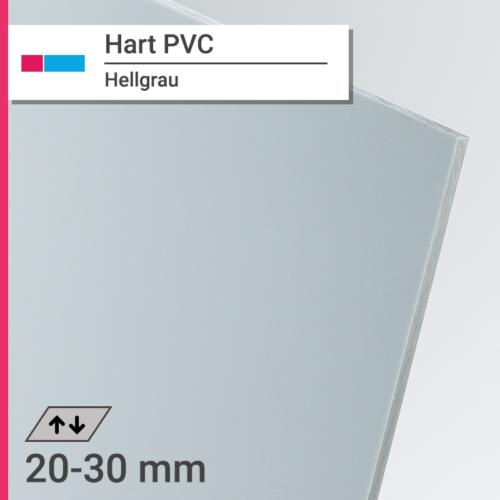 hart pvc hellgrau