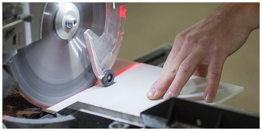 kunststoff platten schneiden