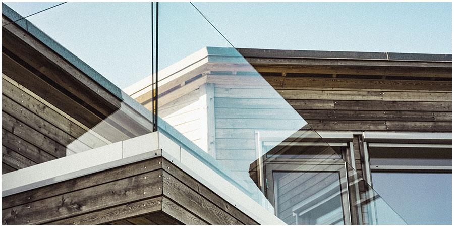 balkon glares acrylglas