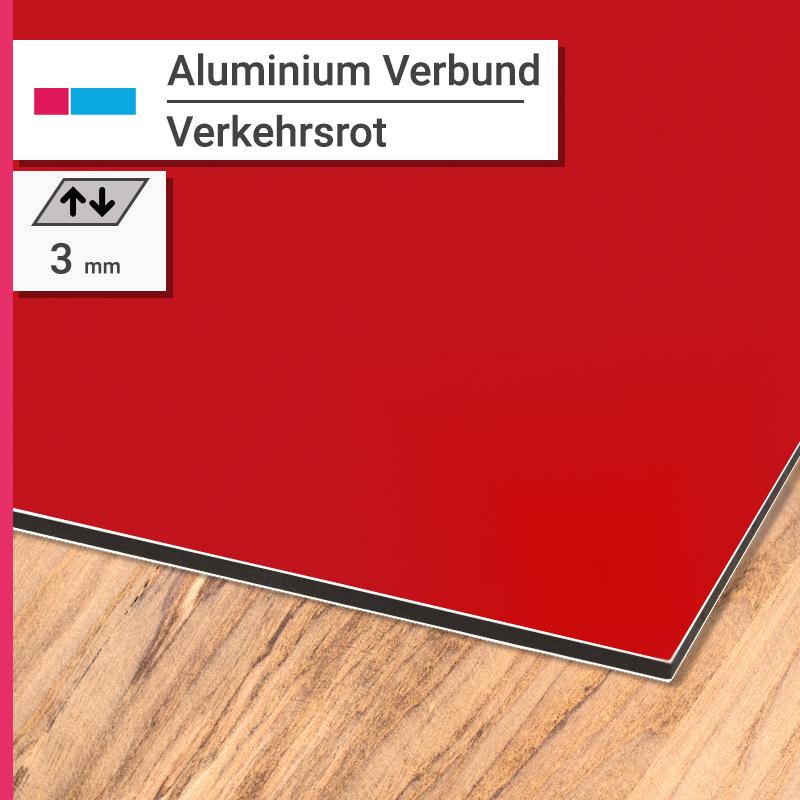 aluminiumverbund rot