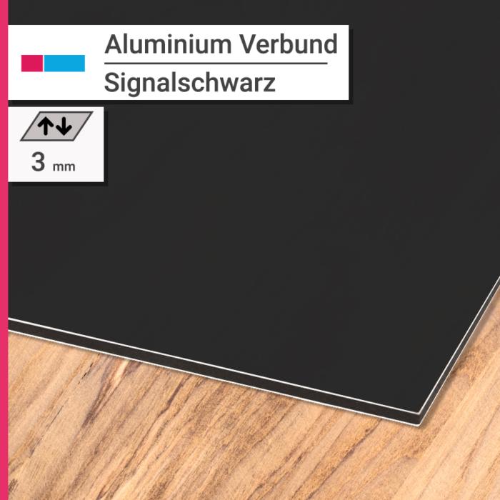 aluminiumverbund schwarz