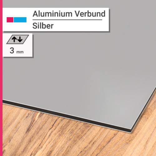 aluminiumverbund silber