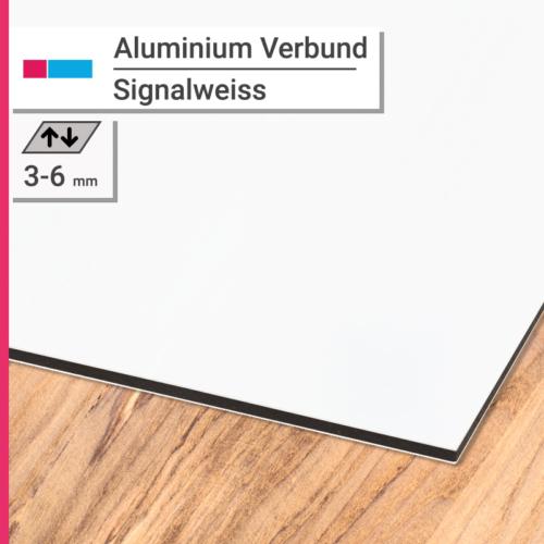 aluminiumverbund signalweiss