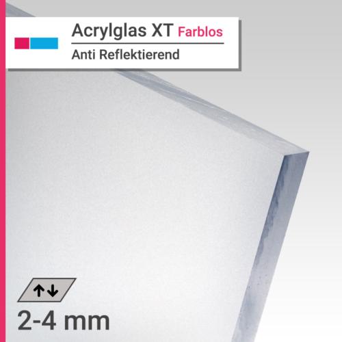 acrylglas xt farblos antireflektierend