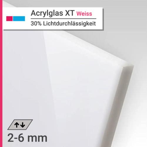 acrylglas xt weiss opal