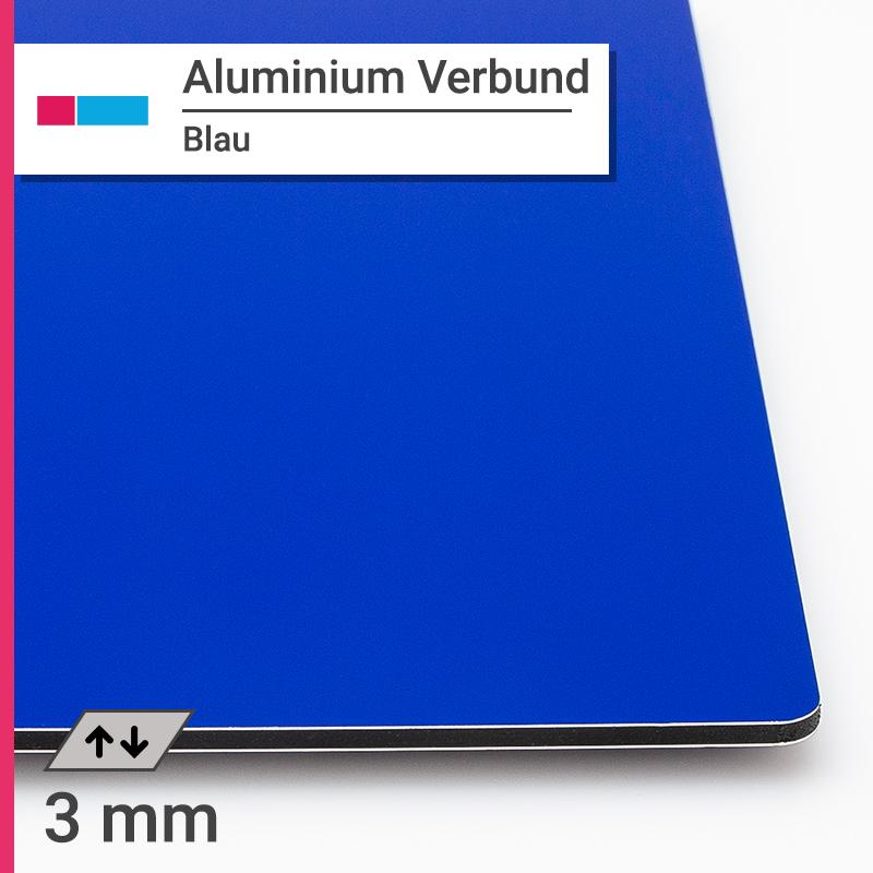 alu verbund blau