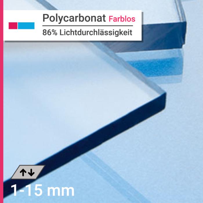 polycarbonat farblos